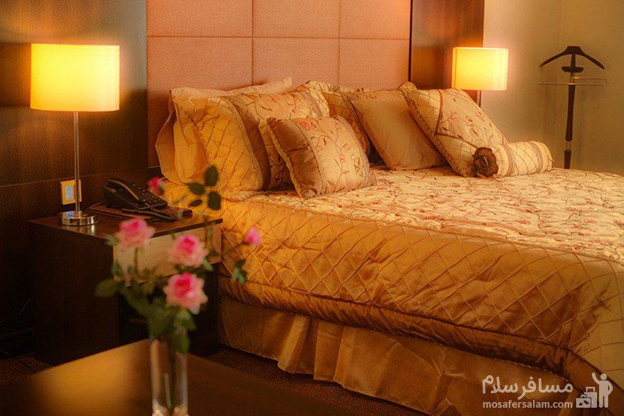 هتل ایران کیش تخت دبل