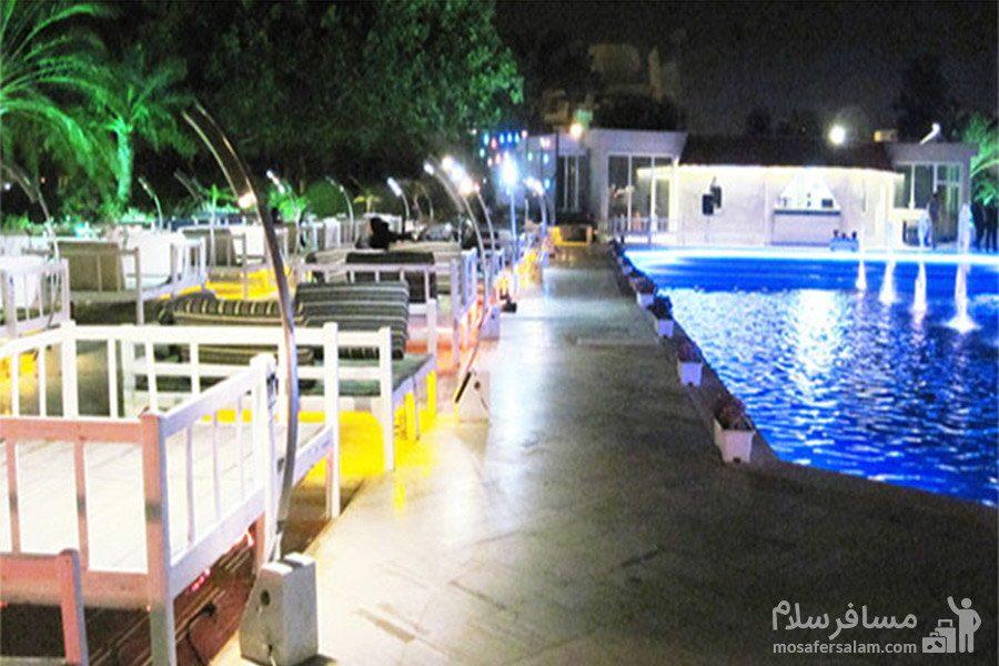 هتل شایان کیش رستوران سنتی باغ بهشت