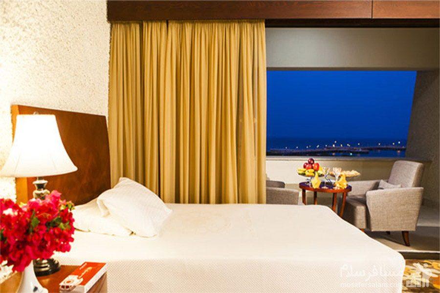هتل شایان کیش اتاق دوتخته رو به دریا