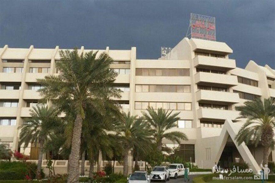 هتل شایان کیش محوطه بیرونی