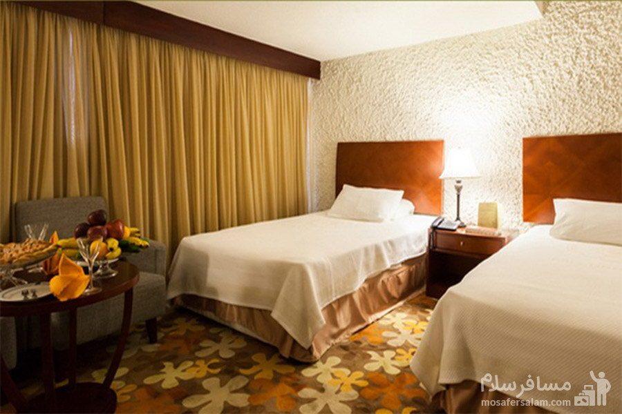 هتل شایان کیش اتاق دوتخته رو به جزیره