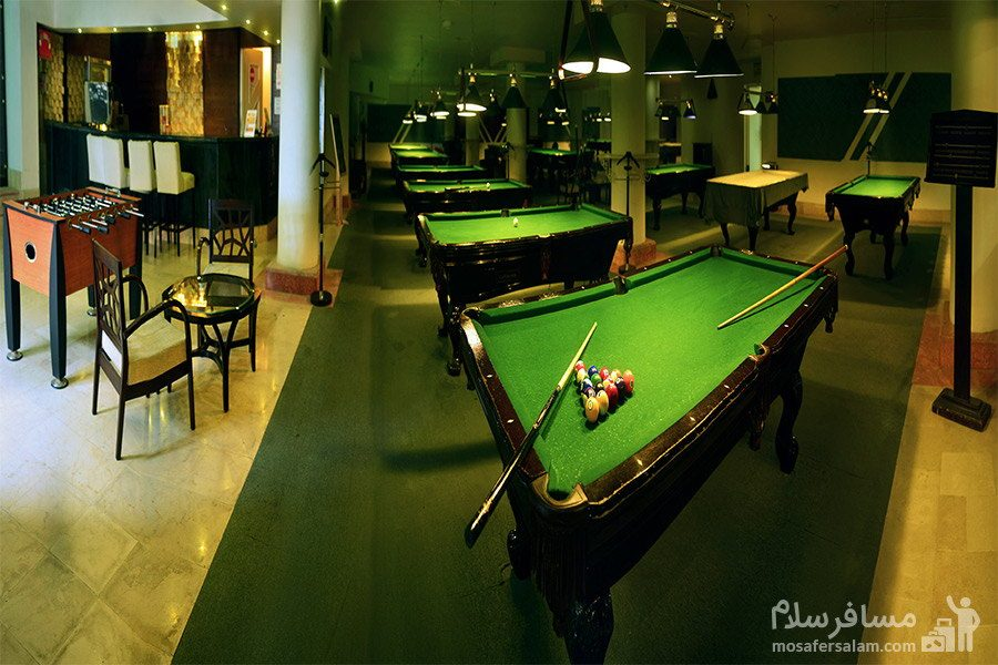سالن بیلیارد هتل شایگان