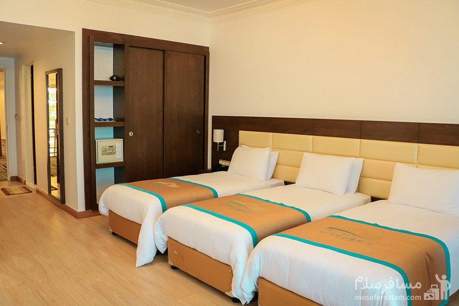 اتاق سهتخته هتل شایگان