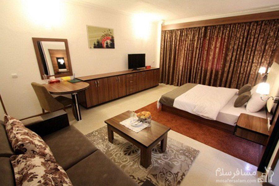 هتل شایلی کیش اتاق دوتخته ممتاز