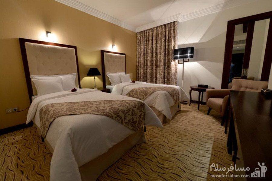 هتل سورینت مریم کیش اتاق دوتخته استاندارد توئین