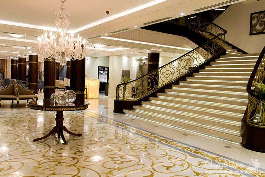 لابی ورودی هتل سورینت مریم کیش