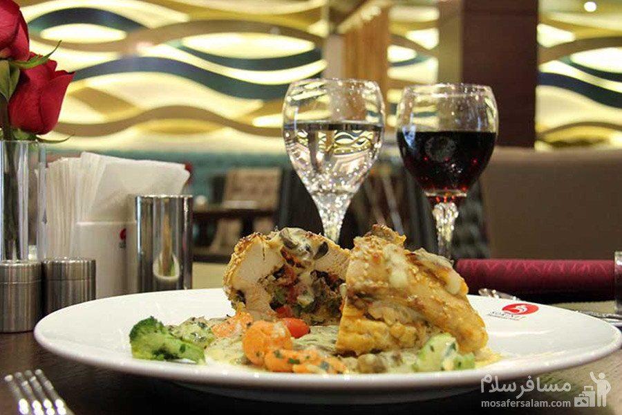 هتل سورینت مریم کیش غذای فست فود