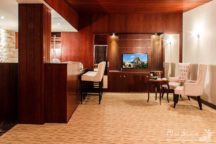 هتل سورینت مریم کیش کافی شاپ از نمای دیگر