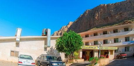 ورودی هتل جهانگردی ماکو
