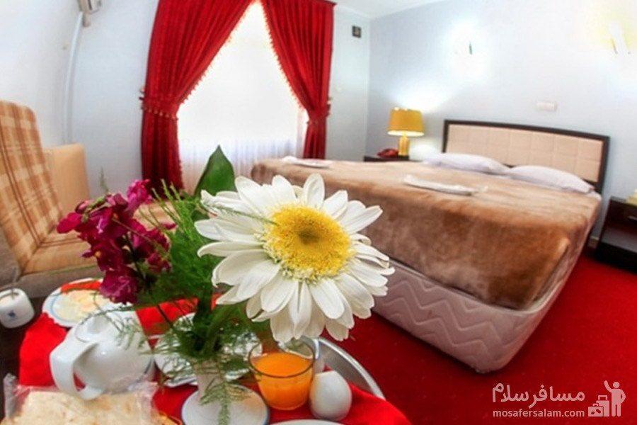 اتاق دوتخته توئین هتل جهانگردی ماکو