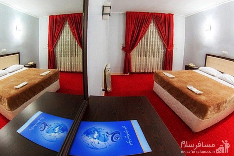 اتاقهای هتل جهانگردی ماکو