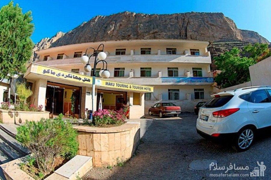 فضای باز هتل جهانگردی ماکو