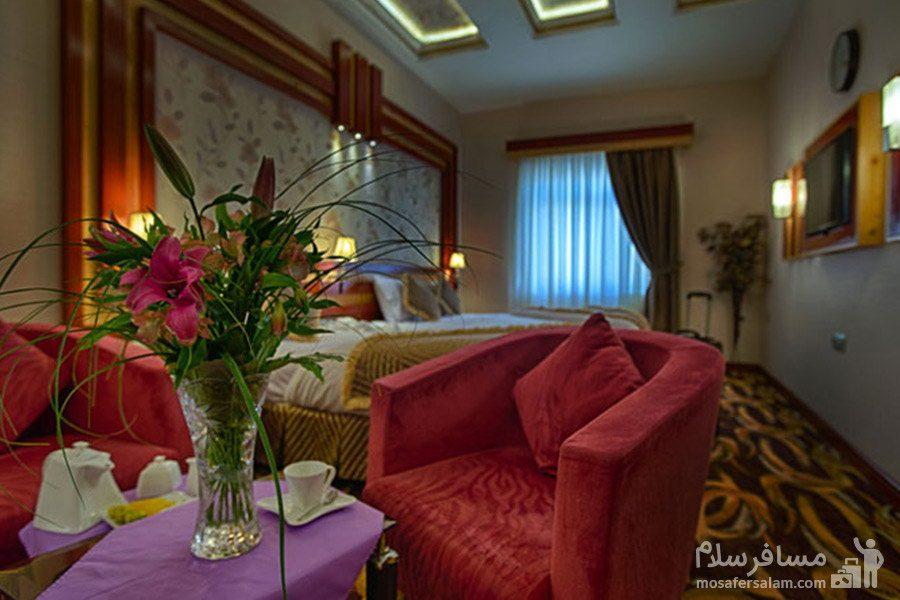 اتاق رویال هتل الماس مشهد