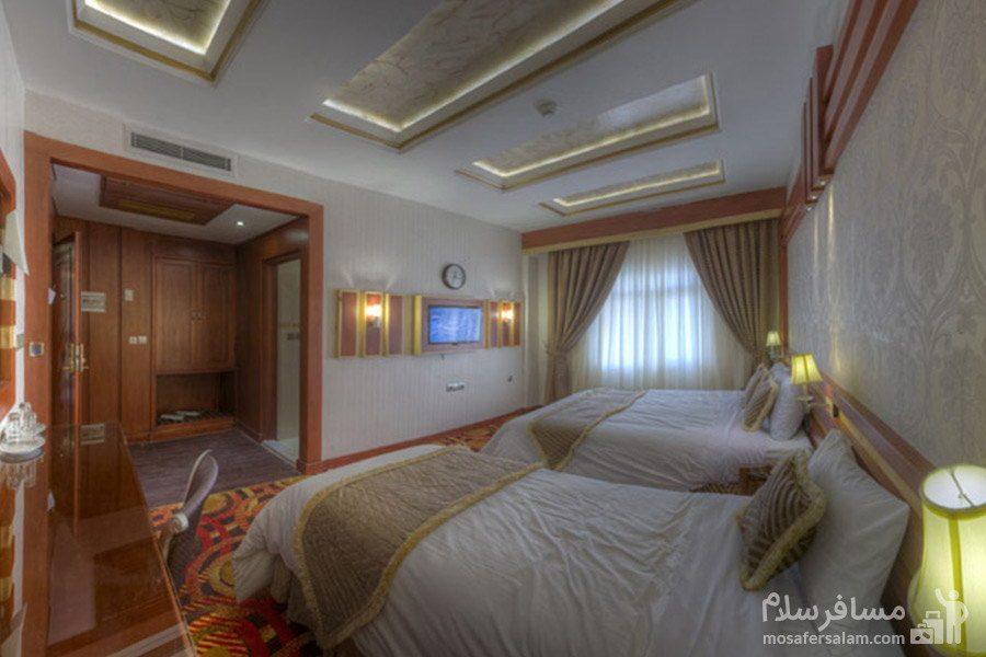 کانکت چهار نفره هتل الماس مشهد