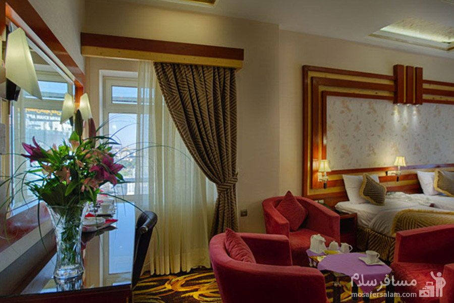 سوئیت یکخوابه هتل الماس مشهد