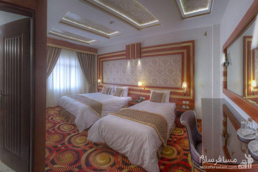 کانکت پنج نفره هتل الماس مشهد