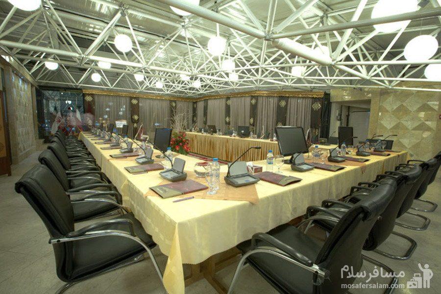 محل برگزاری جلسات هتل الماس مشهد