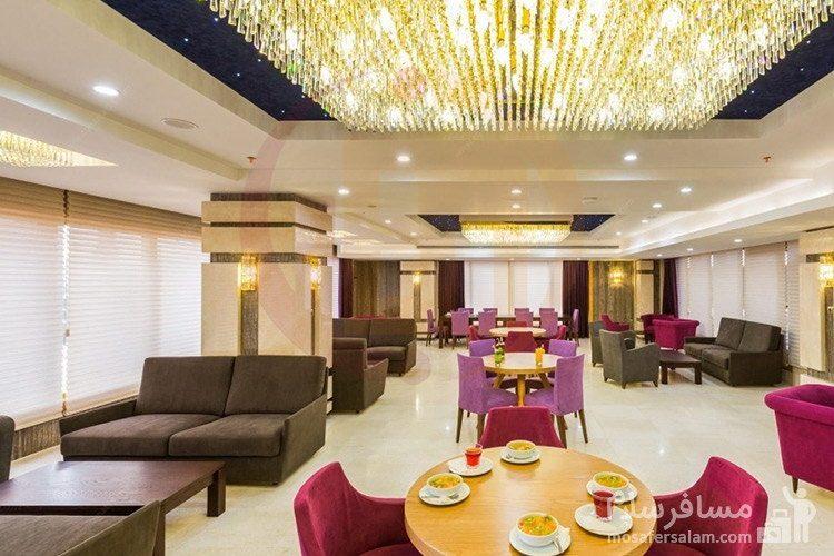 سالن صبحانه خوری هتل آرمان
