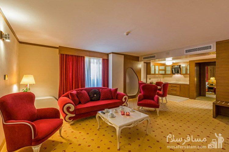 آپارتمان دوخوابه هتل آرمان مشهد