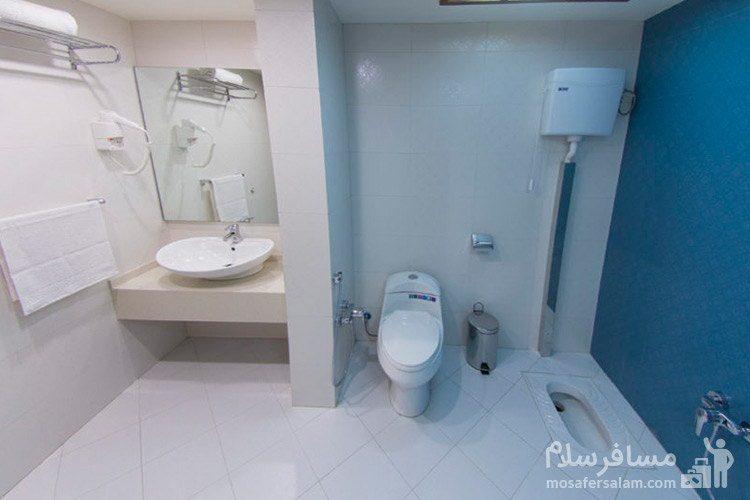 حمام و دستشویی هتل آرمان