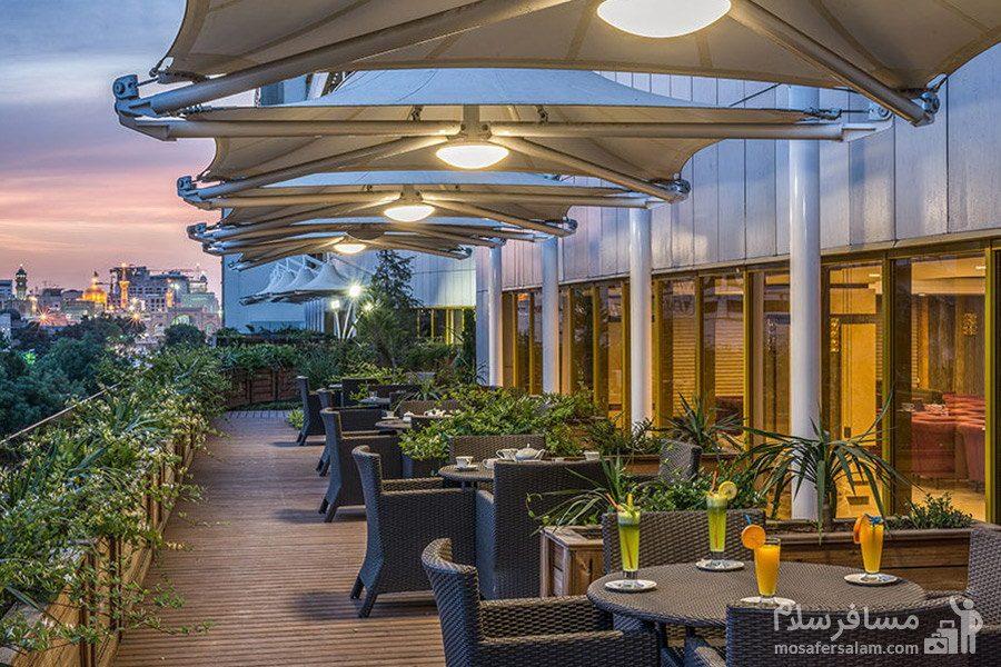 باغبام هتل آرمان مشهد