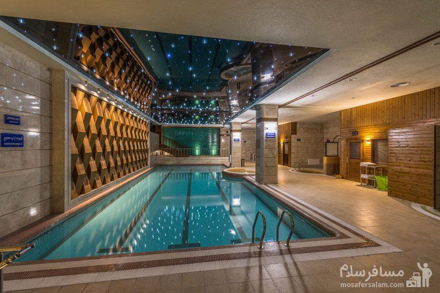 مجموعه آبی و ورزشی هتل آرمان مشهد