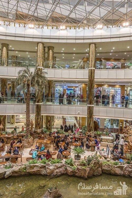 مرکز خرید هتل آرمان مشهد