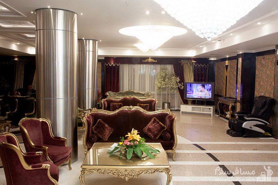 لابی هتل آپارتمان بشری مشهد