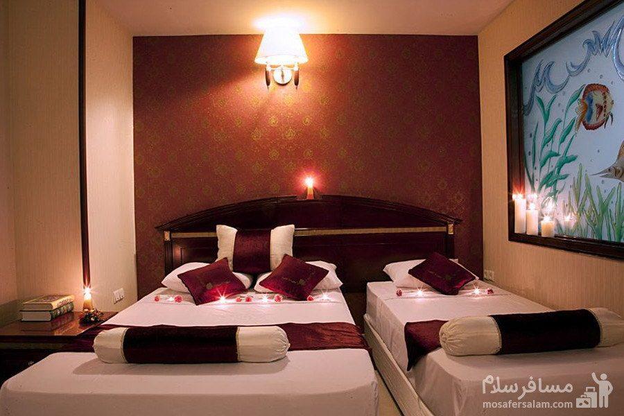 اتاق سه تخته هتل آپارتمان بشری