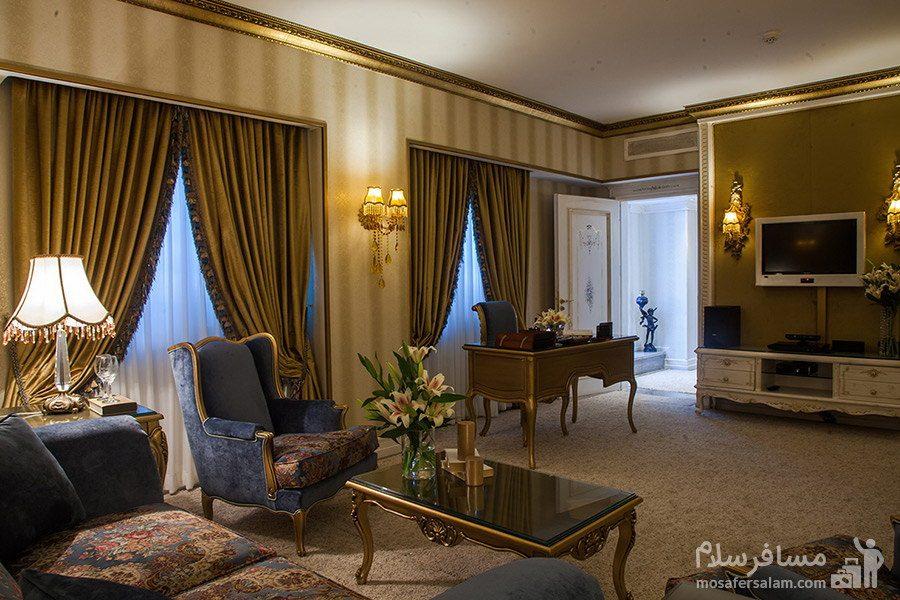 آپارتمان دوخوابه هتل بین المللی قصر مشهد