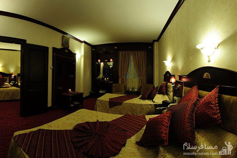 آپارتمان یکخوابه هتل بین المللی قصر مشهد