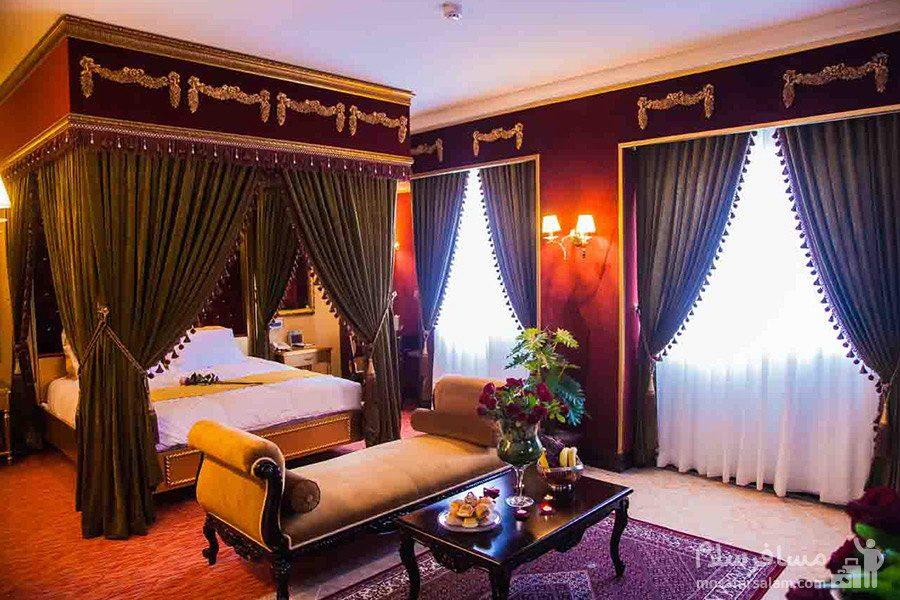 سوئیت دونفره هتل بین المللی قصر