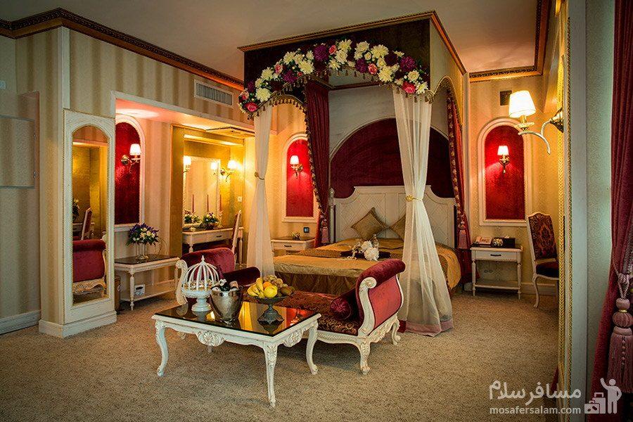 پرنسس روم هتل بین المللی قصر مشهد