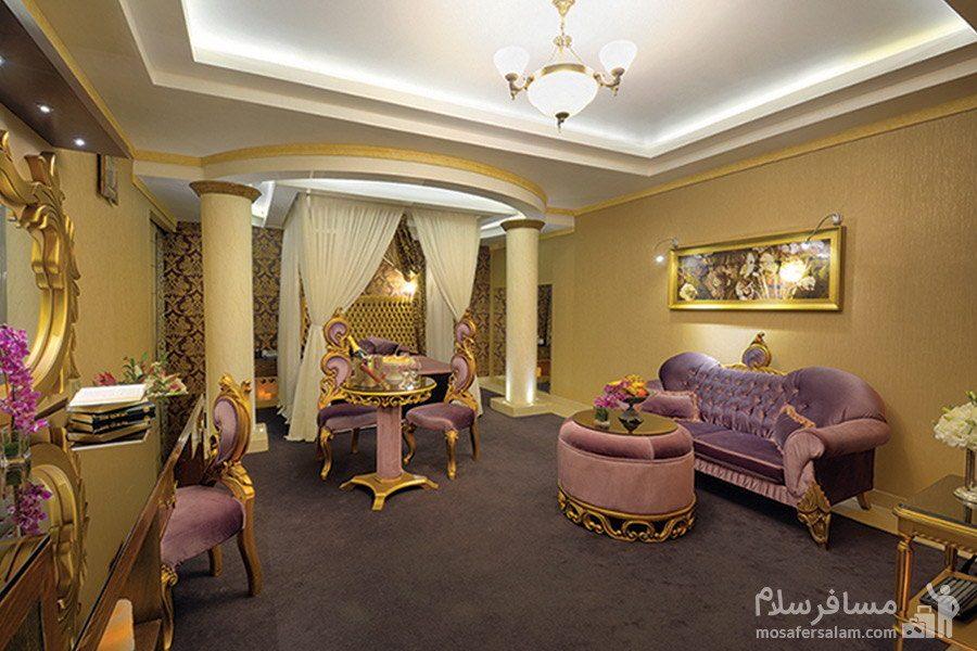 سوئیت هانی مون هتل بین المللی قصر مشهد