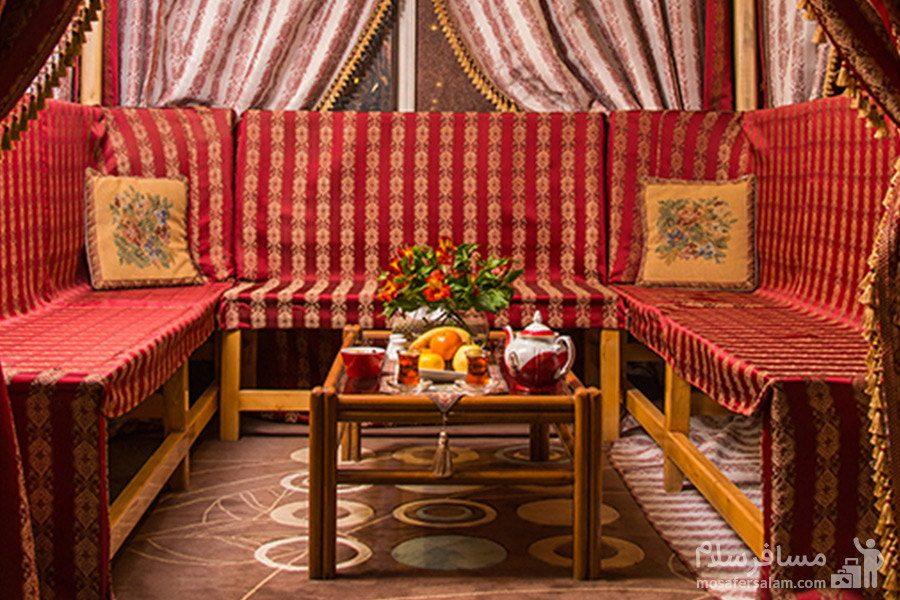چایخانه هتل بین المللی قصر مشهد