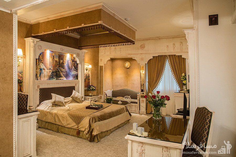 اتاق دوتخته هخامنش هتل بین المللی قصر