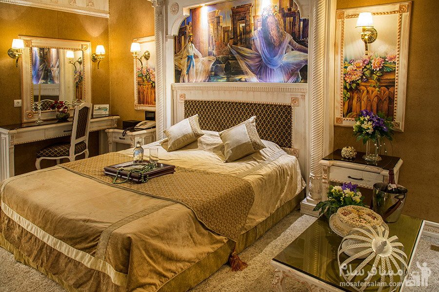 اتاق دوتخته هخامنش هتل بین المللی قصر مشهد