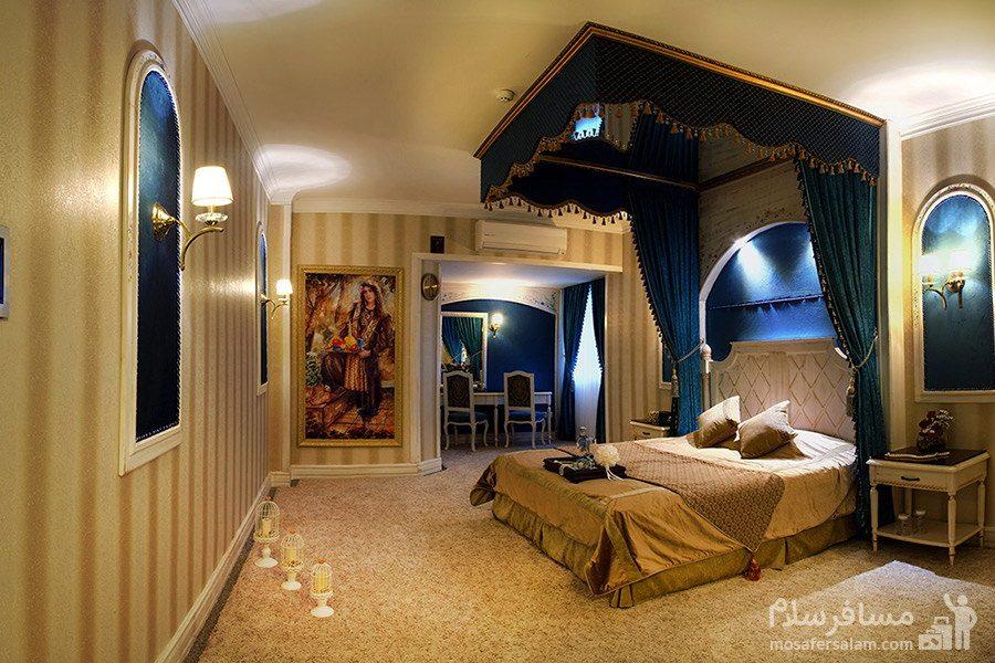 سوئیت پرزیدنت دونفره ویژه هتل قصر