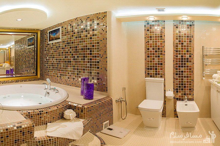 حمام لوکس هتل بین المللی قصر مشهد
