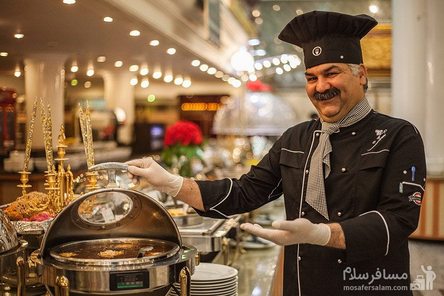 سرآشپز هتل بین المللی قصر مشهد