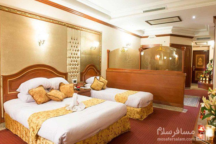 سوئیت جونیور هتل قصر طلایی مشهد