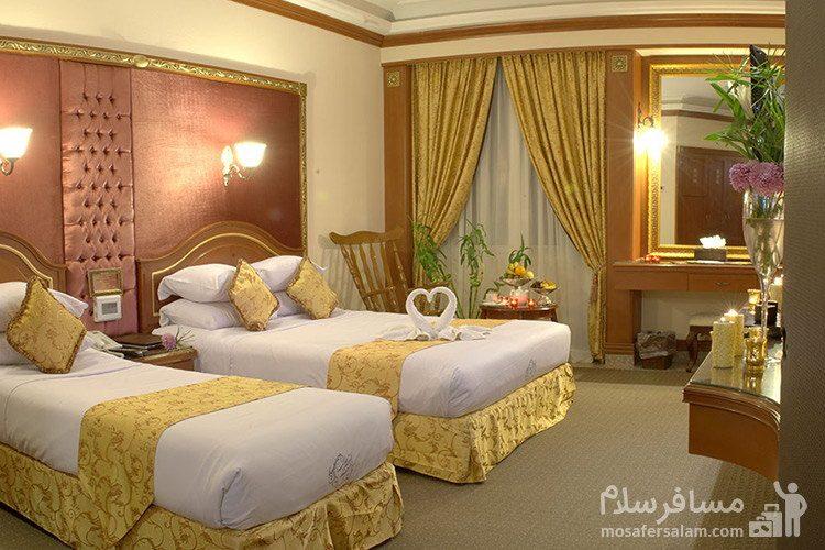 سوئیت رویال هتل قصر طلایی مشهد