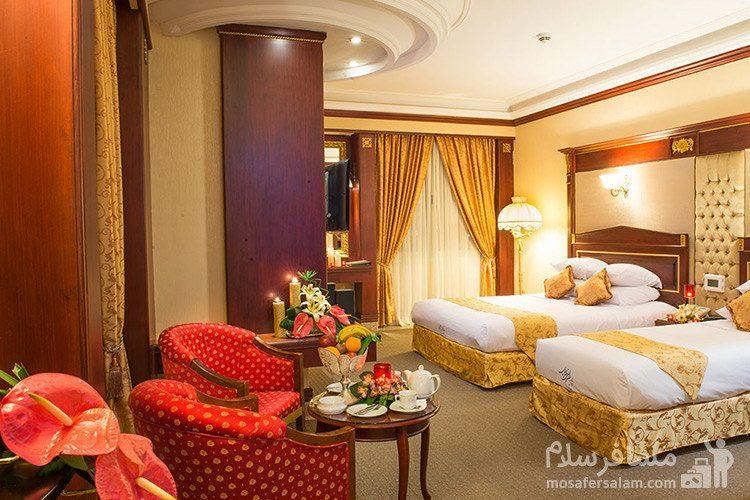 دبل لندسکیپ هتل قصر طلایی مشهد