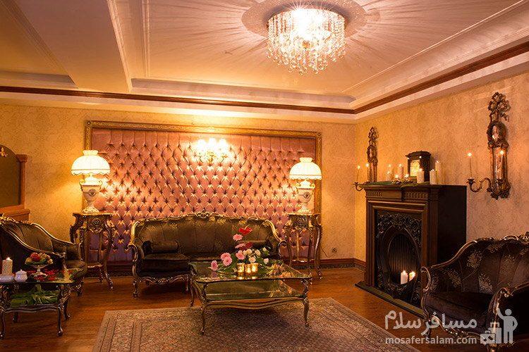 سوئیت پرزیدنت هتل قصر طلایی