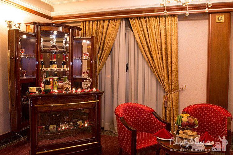 پرنسس سوئیت هتل قصر طلایی