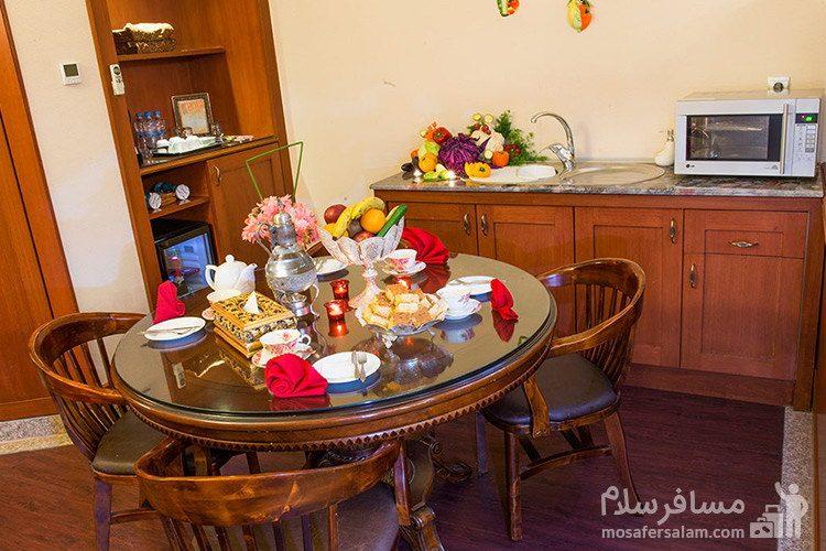 آپارتمان رویال هتل قصر طلایی مشهد