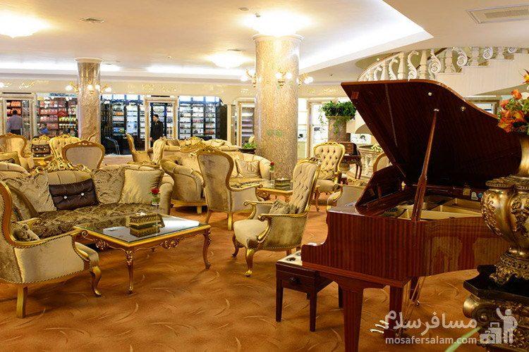 رستوران هتل قصر طلایی