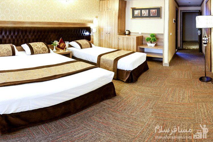 کانکت هتل ایران زمین مشهد