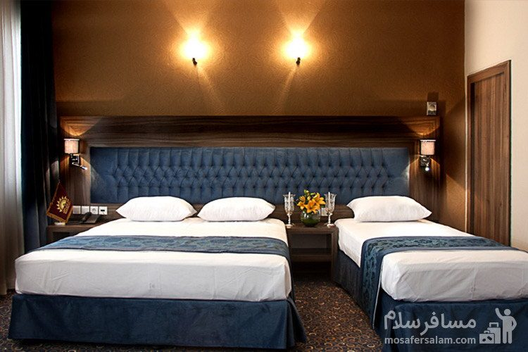 اتاق هتل ایران زمین مشهد