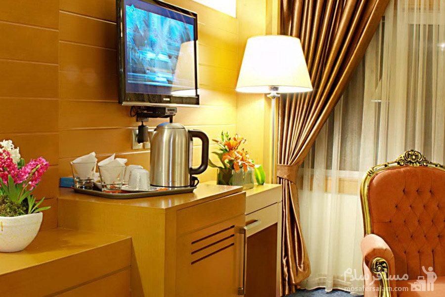 آپارتمان هتل مدینه الرضا مشهد